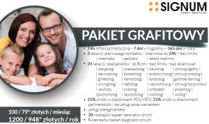 grafitowy pakiet medyczny