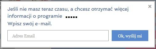 okienko lead page