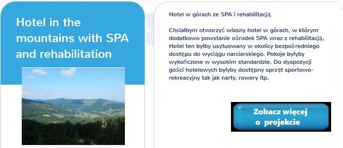 crowdfunding hotel w górach