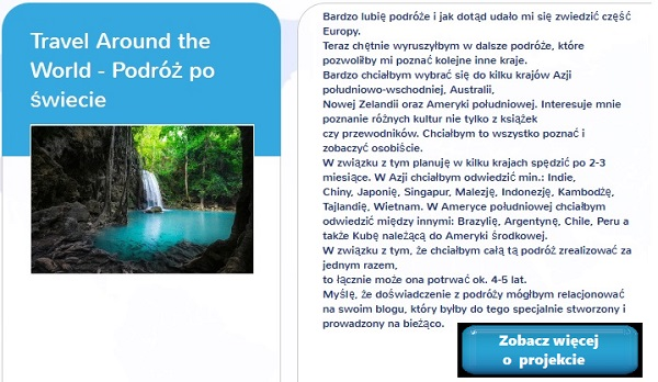 crowdfunding podróże