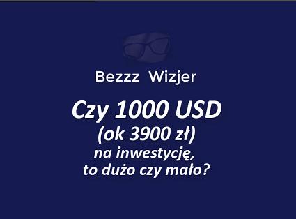 ile na inwestycję