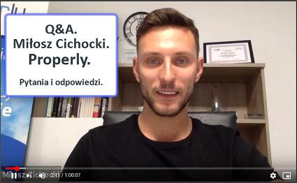 Miłosz Cichocki Properly