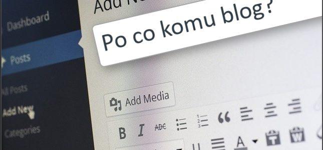 blogowanie korzysci